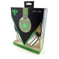 Наушники ADIDAS AD-188 (с оголовьем) White+Black