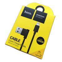 Дата кабель HOCO UPL-11L iPhone 5 120cm Black