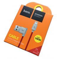 Дата кабель HOCO UPL-11L iPhone 5 120cm Red