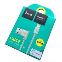 Дата кабель HOCO UPM-10 micro USB 120cm White