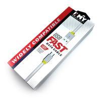 Дата кабель EMY MY-444 micro USB White