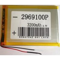 Аккумулятор универсальный 100х69х2.9 мм 3,7V 3300mAh (2969100P)