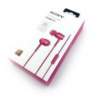 Наушники SONY MDR-EX750AP + mic Pink