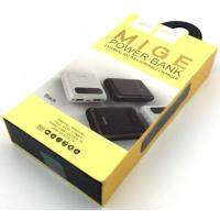 Power Bank HOCO B20-10000 Mige (10000mAh/2.1A/2USB) Black