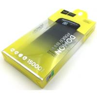 Power Bank HOCO B29A-15000 Domon (15000mAh/2.0A/2USB) Black