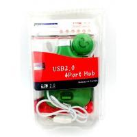 USB HUB 4 ports Human Green