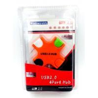 USB HUB 4 ports BIG-X Orange