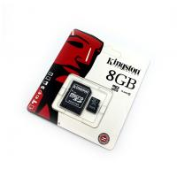 Карта памяти 8Gb Kingston Micro SD + adapter COPY
