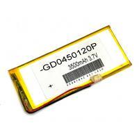 Аккумулятор универсальный 125х70х3 мм 3,7V 4000mAh