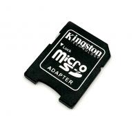Переходник для карты памяти Micro SD to SD Kingston Black