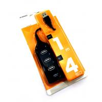 USB HUB 4 ports Black
