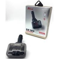 FM модулятор ALS-A673 Bluetooth + Charger (1USB/5V/2.5A) Black/Gray