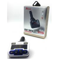FM модулятор ALS-A673 Bluetooth + Charger (1USB/5V/2.5A) Black/Silver