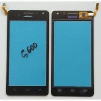 Сенсорный екран для HUAWEI G600/U9508 Black