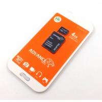 Карта памяти  4Gb ADVANCE MEDIA Micro SD + adapter