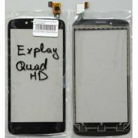 Cенсорный экран для EXPLAY HD Quad Black